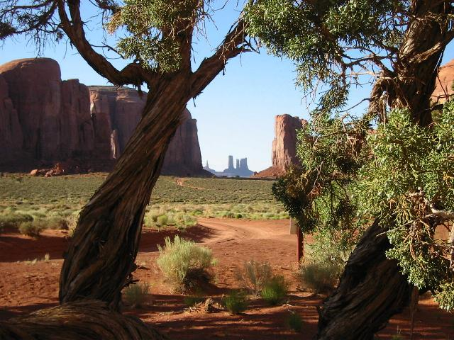 North View at Monument Valley