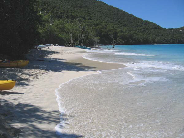Another perfect beach, St John