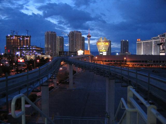 Las Vegas at Dusk