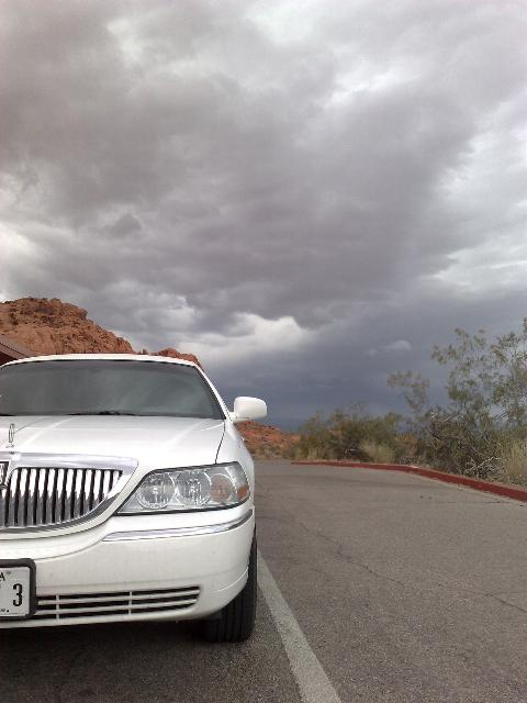 Wedding Limo at Valley of Fire