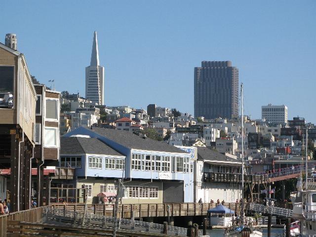 San Francisco from Pier 39, Fishermans Wharf