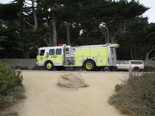 Fire Engine, 17 Mile Drive