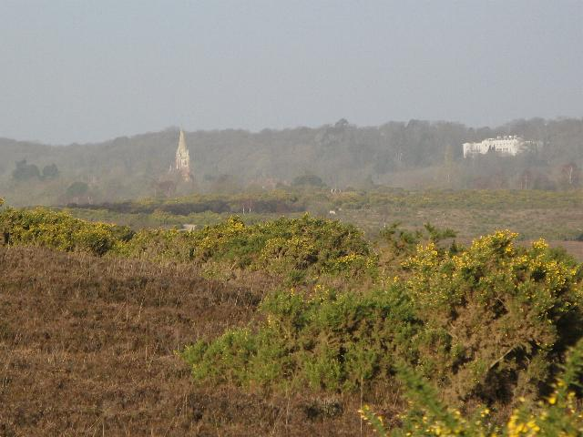 Lyndhurst from Beaulieu Road