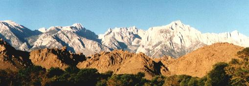 Mount Whitney from Lone Pine